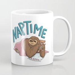 Nap Time Sloth Coffee Mug