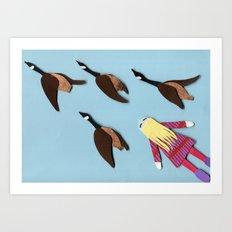 Flying V Art Print