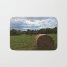 A bale of hay Bath Mat
