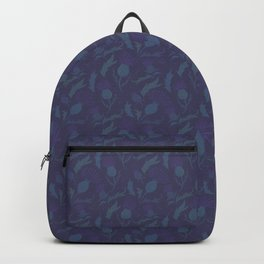 Purple Thistle Backpack