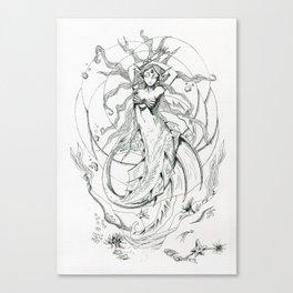 Under the sea Canvas Print