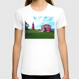 Lighthouse Museum and Ship T-shirt