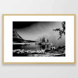 Lake Minnewanka, Canada 4 Framed Art Print