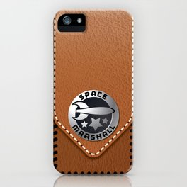 SPACE MARSHALL iPhone Case