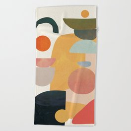 Modern Abstract Art 70 Beach Towel