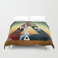 laura palmer Duvet Covers featuring Bastille - Laura Palmer by Thafrayer