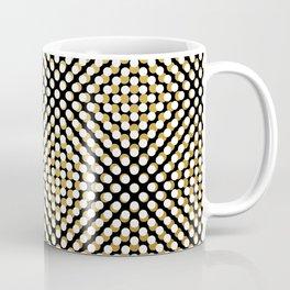 Hypnotic dots Coffee Mug
