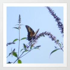 My Flutterby Garden Art Print
