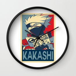 Ninja Clan Sensei Wall Clock