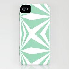 Mint Starburst #2 Slim Case iPhone (4, 4s)