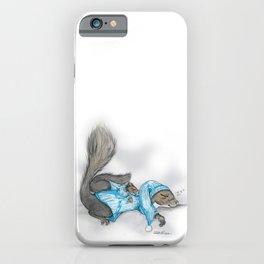 Sleepy Squirrels iPhone Case