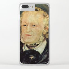 Richard Wagner (1813 – 1883) by Auguste Renoir (1841 - 1919) in 1882 Clear iPhone Case