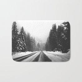 Frozen Highway Bath Mat