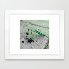 Gluttonous Supplicant Framed Art Print