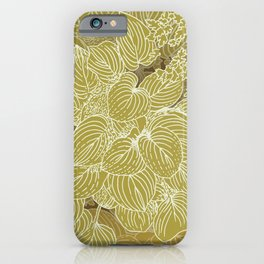 grandma's garden iPhone Case