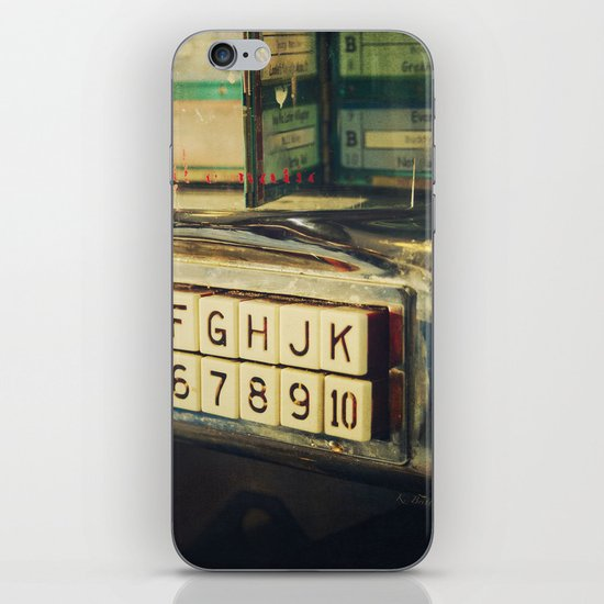 Please Make Your Selection iPhone & iPod Skin