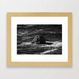 Eroding Framed Art Print