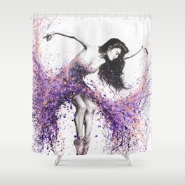 The Last Coral Dance Shower Curtain
