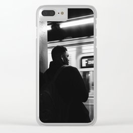 Subway Life II Clear iPhone Case