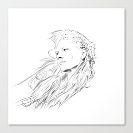 Lagertha Canvas Print