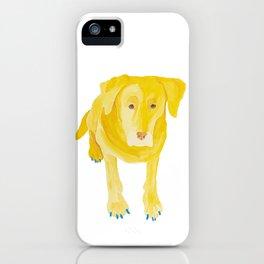 Dog soul iPhone Case