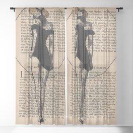 Licorice Sheer Curtain
