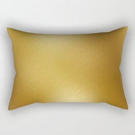 Pure Gold Print Rectangular Pillow