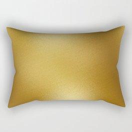Pure Gold Print Rectangular Pillow