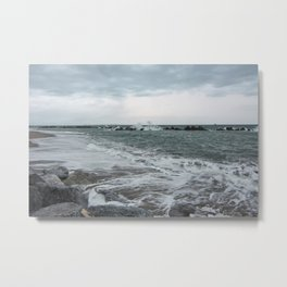 The sea ... mirror of the sky Metal Print