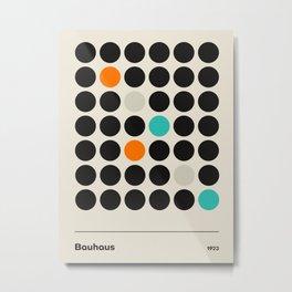 Vintage poster-Bauhaus 1923. Metal Print