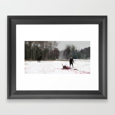 another day at work... Leshy Framed Art Print