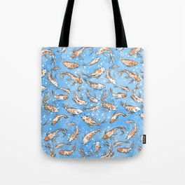 Don't Be Koi Tote Bag