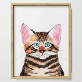 Bengal Cat Serving Tray
