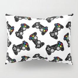 Gaming joystick pattern Pillow Sham