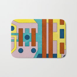 Raygun Capacitor - Abstract Composition Bath Mat