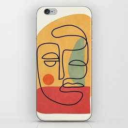 Abstract Face 20 iPhone Skin