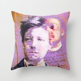 Rimbaud & Verlaine Throw Pillow