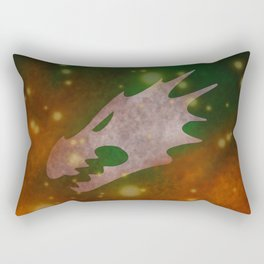 Into the fires of battle, unto the Anvil of War! Rectangular Pillow
