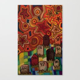 Mile 002 Canvas Print