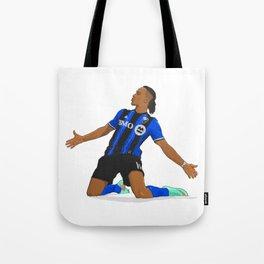 Didier Drogba Celebration Tote Bag