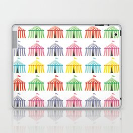 colourful circus tents Laptop & iPad Skin