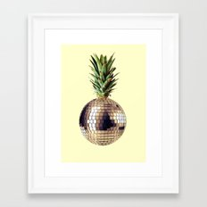 ananas party (pineapple) Framed Art Print
