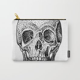 Skull, Head-On Carry-All Pouch