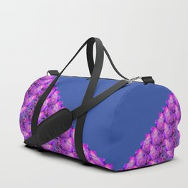 Celebration with Streamers 2nd Half Blue Fluid Abstract 44 Duffle Bag