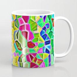 Color rain realistic mozaic print Coffee Mug