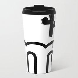 ABC: M Metal Travel Mug