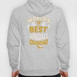 World's Best Airedale Grandad Hoody