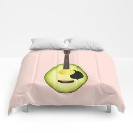 AVOCADO GUITAR Comforters