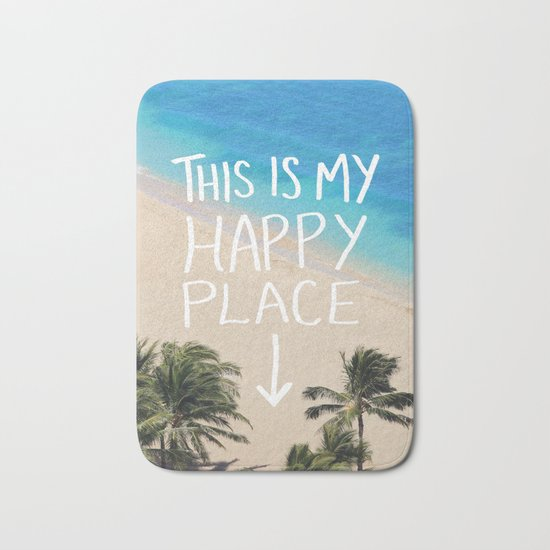Happy Place Bath Mat