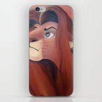 simba iPhone & iPod Skins featuring Simba by Jgarciat